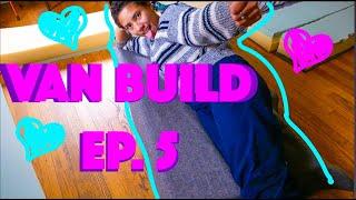 Just a Video About My Bed | Unique DIY Van Conversion Bed Design
