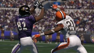 BATTLE OF THE RAVENS vs. Ingraven Vids Madden 15 Online Ravens Showdown EA cheese all over again