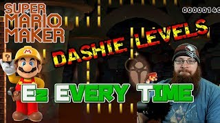 TOO EZ EVERYTIME - Super Mario Maker - DASHIEMAKER Levels, MY WAY!