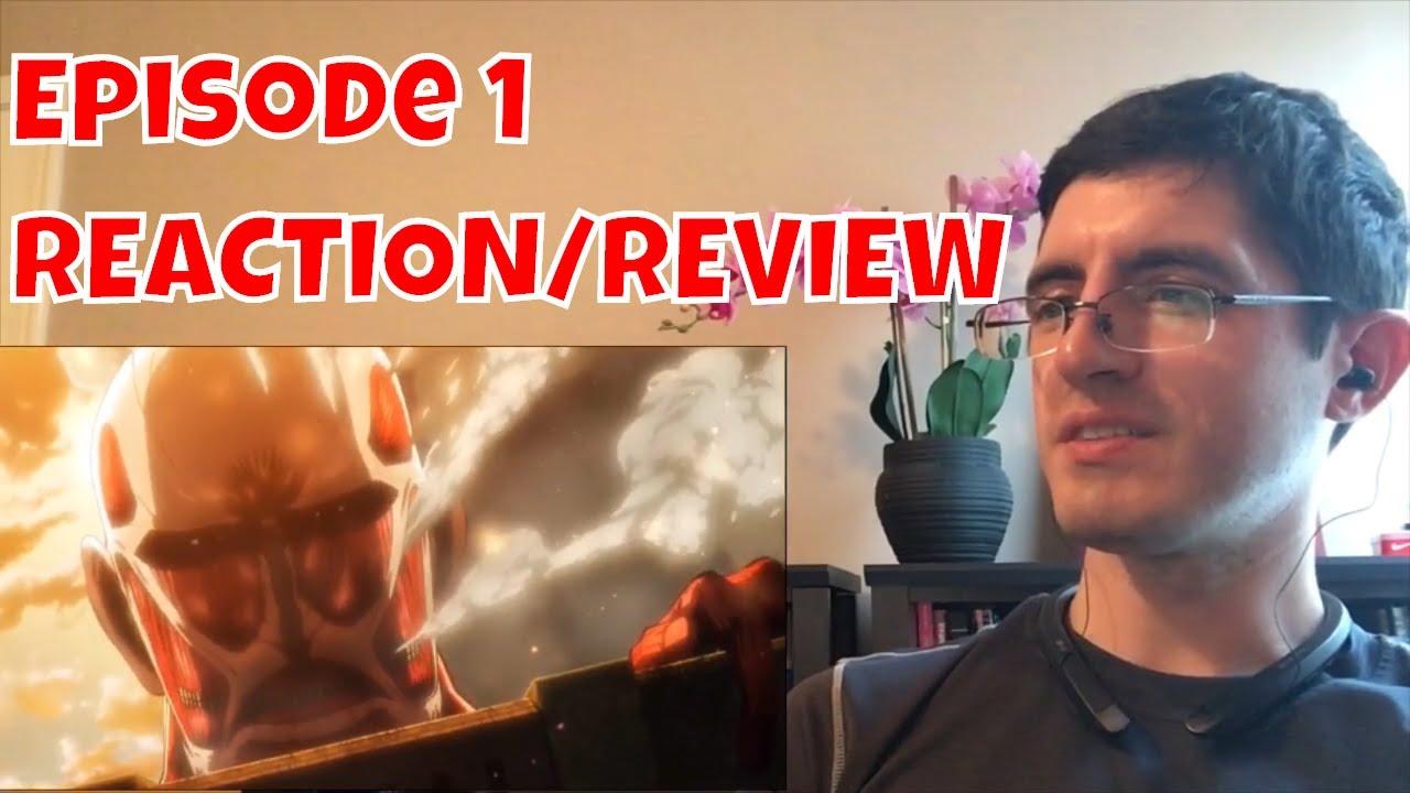 Attack on Titan Episode 1 REACTION/REVIEW - YouTube