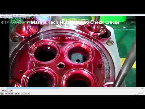 Aux Engine Cylinder Head: How To Check Cracks