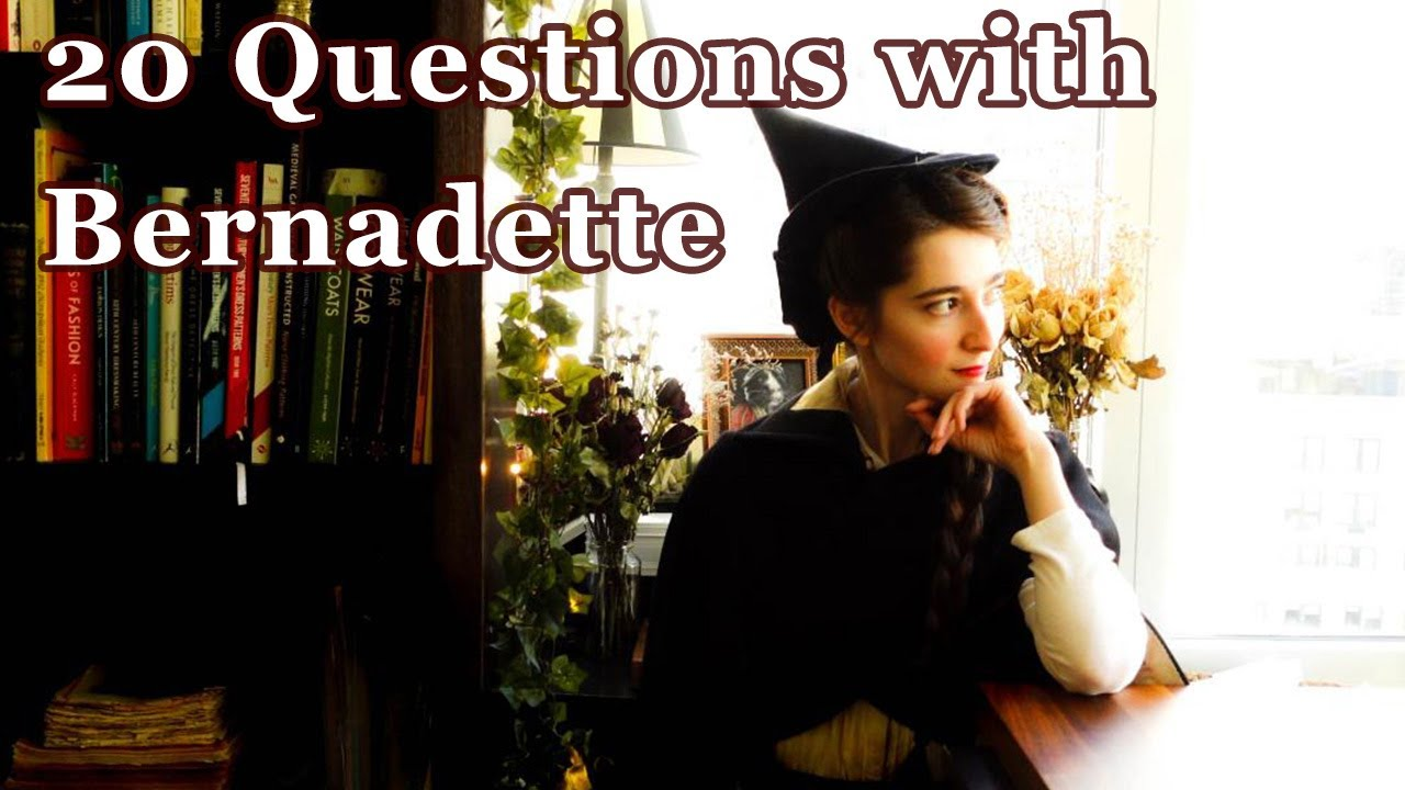 20 Questions with... Bernadette Banner || Ice Breaker Questions with Costumers