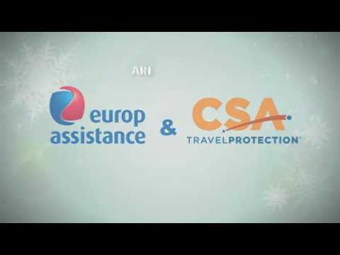 Europ Assistance Year in Review - Holiday Video Card