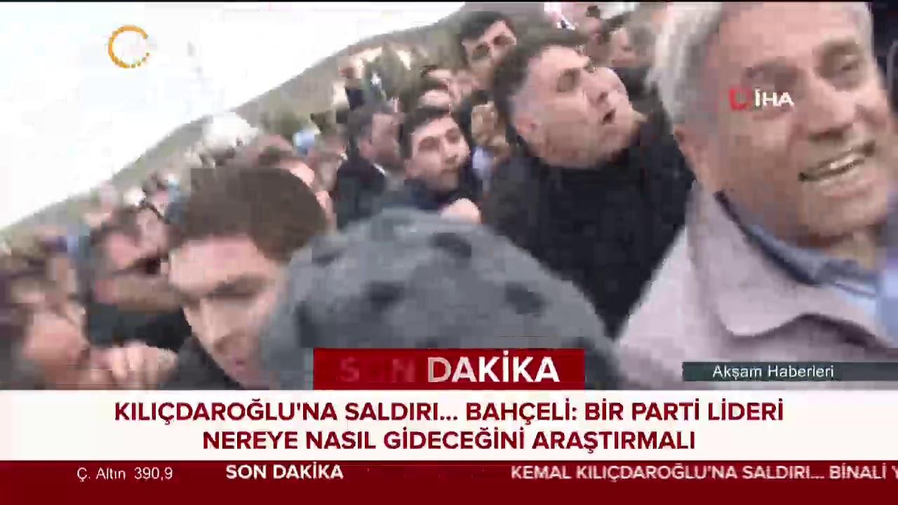 Bahçeli, Kılıçdaroğlu'na yönelik saldırıya ilişkin açıklama yaptı