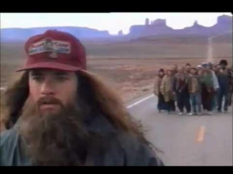 Forrest Gump long run scene