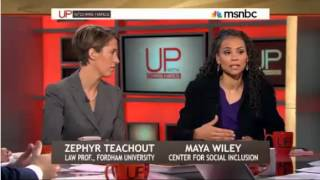 Maya Wiley And The Center for Social Inclusion on MSNBC