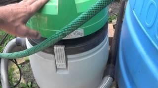 Как помыть ёмкость для сбора воды