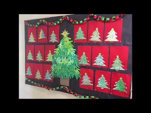 Christmas Doors & Artwork 2020