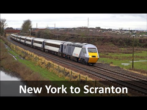 New York to Scranton Express Rail Link