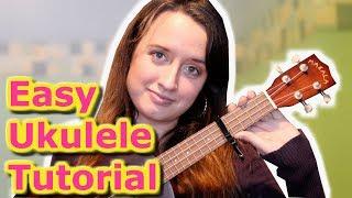 Marshmello ft Bastille - Happier (EASY Ukulele Tutorial) Video