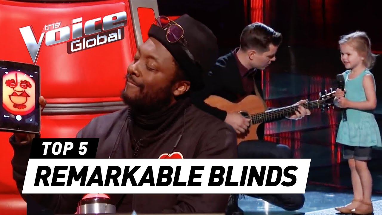 The Voice  MOST REMARKABLE Blind Auditions and FUNNIEST MOMENTS of 2017