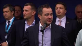 Андрій Павелко про перший крок у футболі