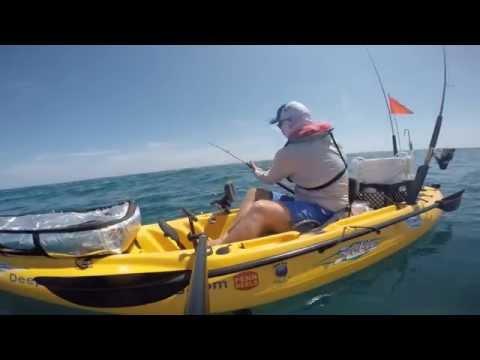 Vertical jigging king mackerel doovi for Offshore kayak fishing