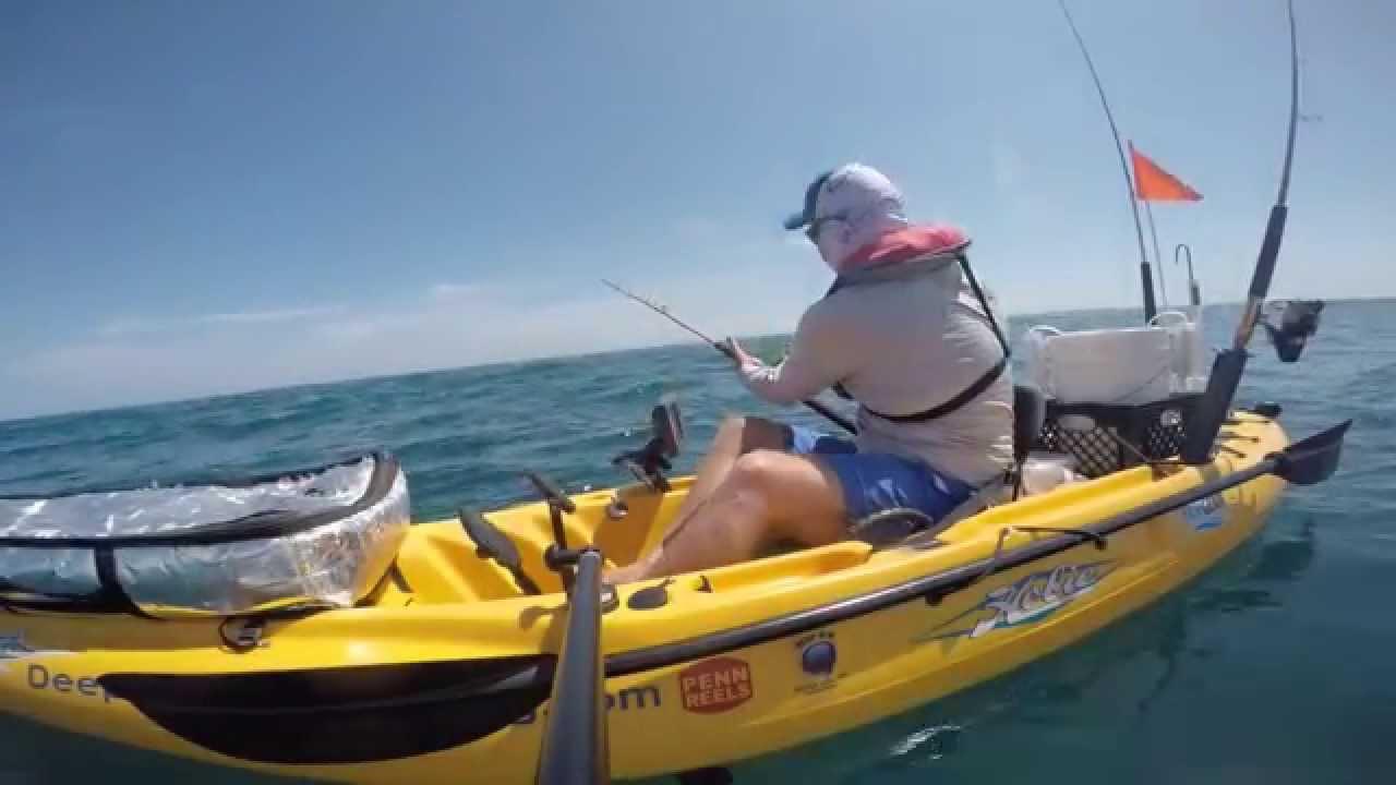 Offshore kayak fishing youtube for Offshore kayak fishing