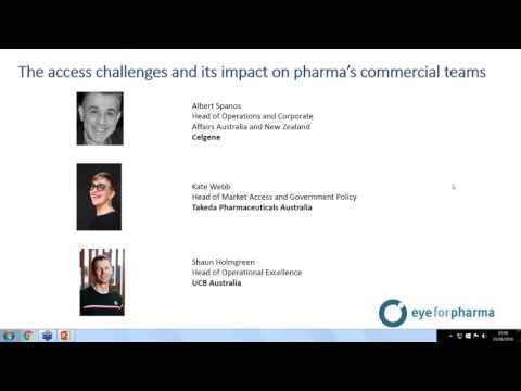 Webinar - The access challenges and it's impact on pharma's commercial teams