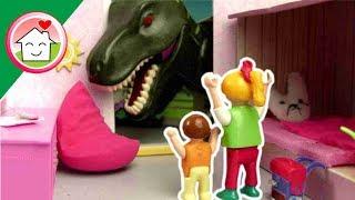 ديناصور عندنا في البيت - عائلة عمر - جنه ورؤى
