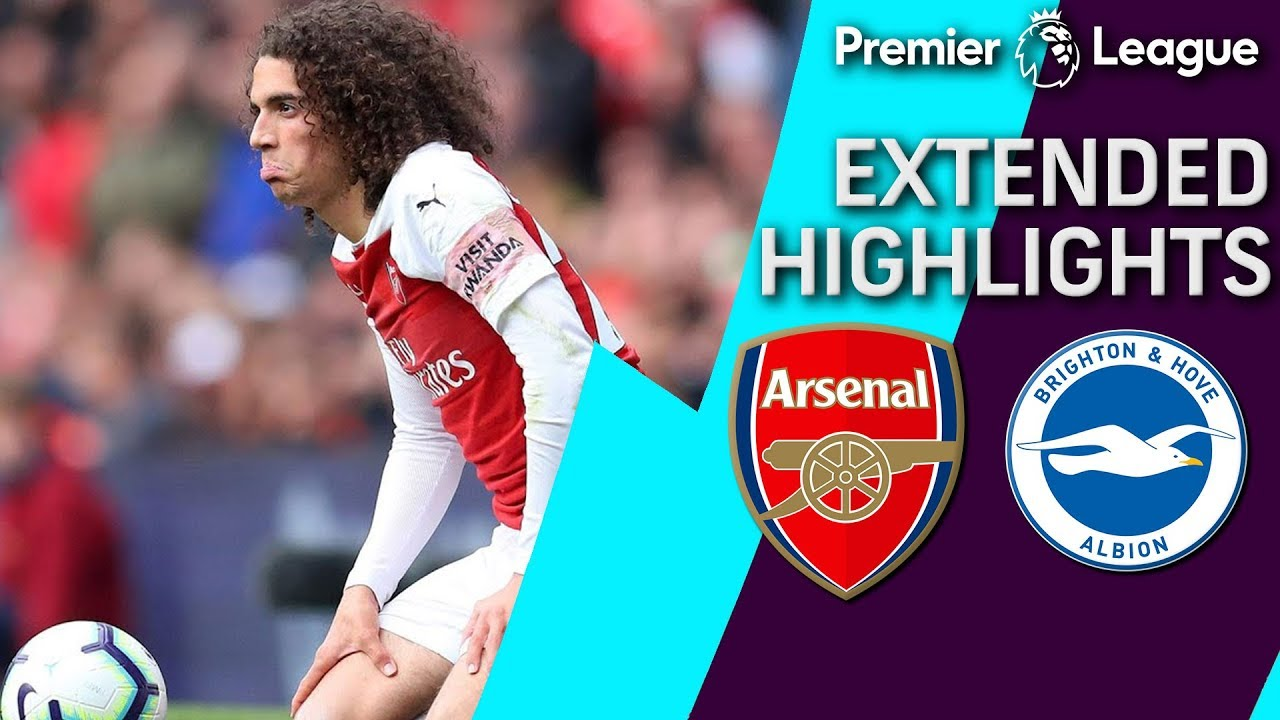 Arsenal v. Brighton | PREMIER LEAGUE EXTENDED HIGHLIGHTS | 5/5/19 | NBC Sports