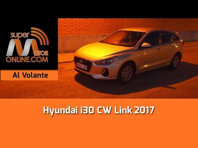 Hyundai i30cw 2017 / Al volante / Prueba dinámica / Review / Supermotoronline.com