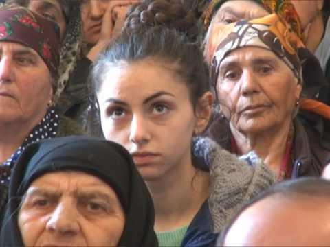 В селе Абатхев муниципалитета Ахалцихе состоялось переосвящение церкви Сурб Хач