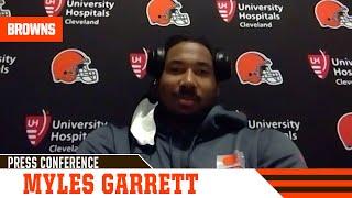Myles Garrett postgame press conference vs. Bengals | Cleveland Browns