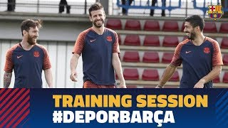Baixar Last workout before the league match against Deportivo