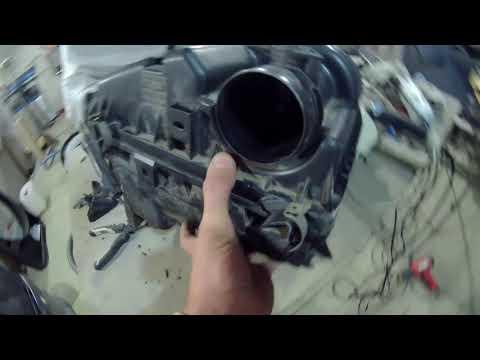 Ремонт корпуса воздушного фильтра