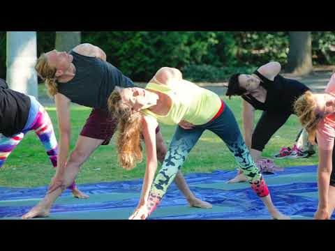 Yoga In The Park 1 July 2018