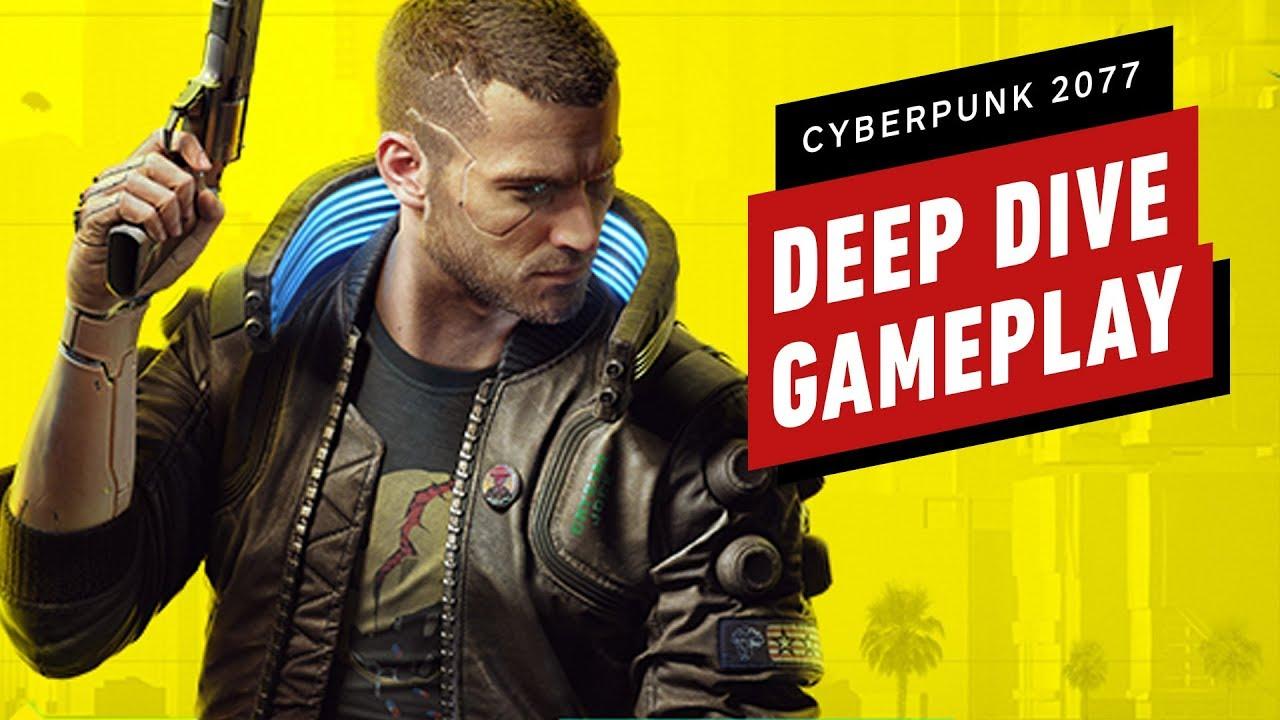 15 Minutes of Cyberpunk 2077 Deep Dive Gameplay thumbnail