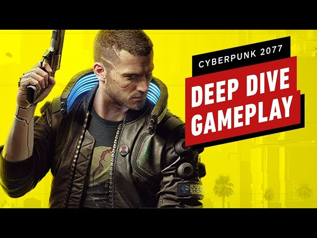15 Minutes of Cyberpunk 2077 Deep Dive Gameplay