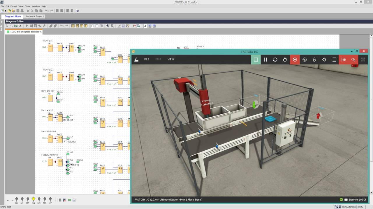 Siemens Edition - PLC Training with FACTORY I/O