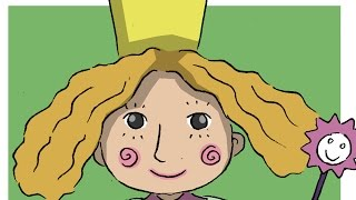 How to draw Holly from Ben and Holly