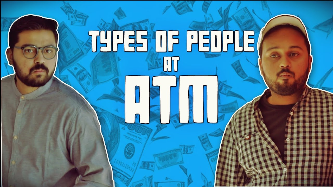 Types of People at ATM | Comedy Video | The Idiotz