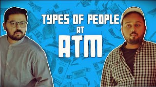 Gambar cover Types of People at ATM | Comedy Video | The Idiotz