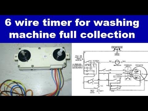 washing machine timer switch for washing machine full collection  YouTube