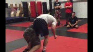 Super Slick Kendall Cross Leg Trap Takedown From an Underhook