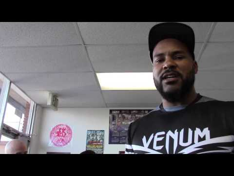 boxing star gerald washington in camp for mansour EsNews Boxing