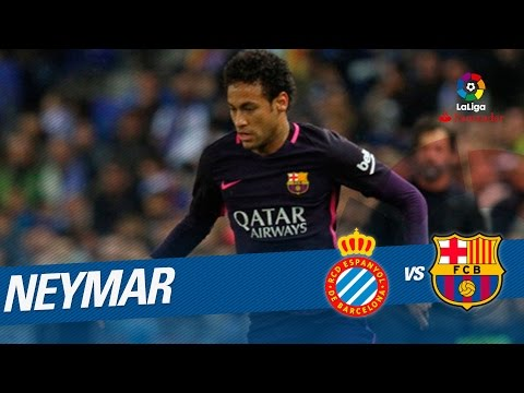 Paradón de Diego López a disparo de Neymar