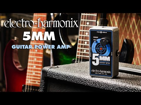 Electro-Harmonix announces the 5MM Power Amp pedal | MusicRadar