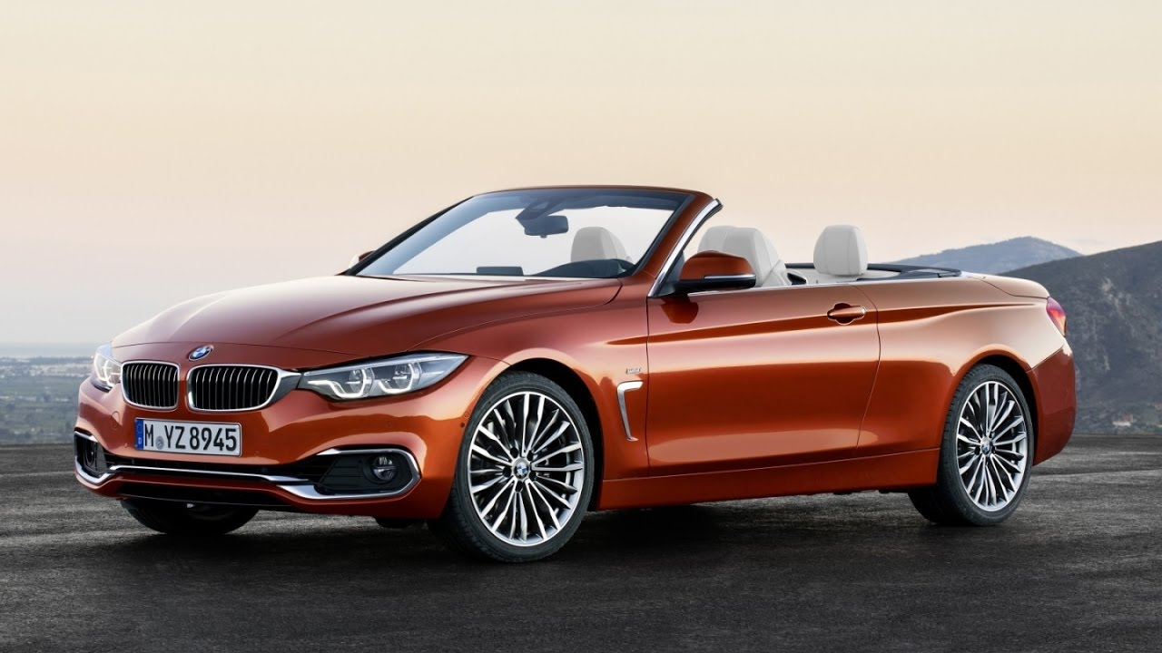 BMW Series Coupe Convertible And Gran Coupe Facelift - 4 door convertible bmw