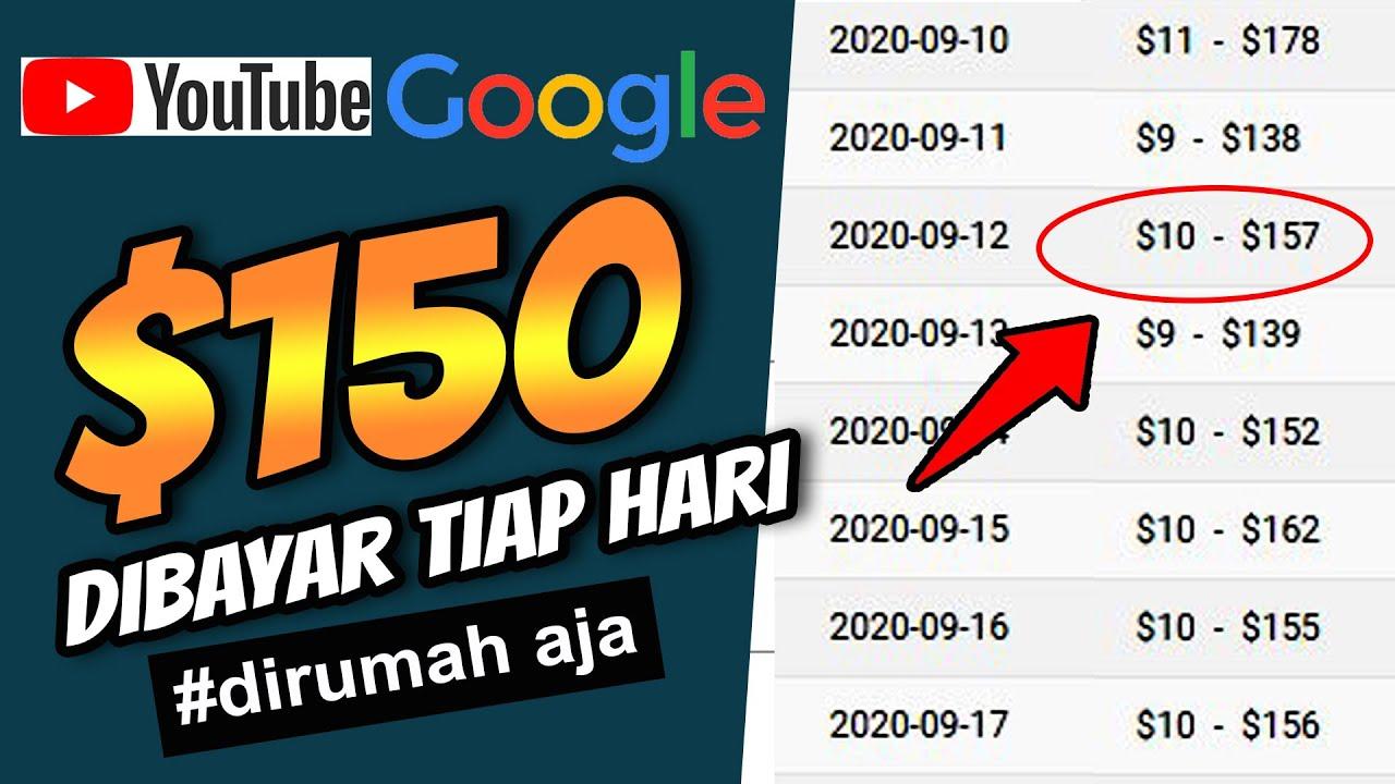 Dapat Uang $150 dari Youtube menggunakan Google Analytic