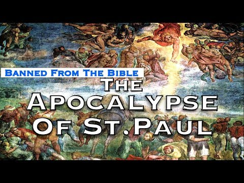 Flat Earth - The Arcturian Lake Past The Firmament - The Apocalypse (Or Vision) Of Paul