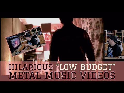 "HILARIOUS ""LOW BUDGET"" METAL MUSIC VIDEOS"