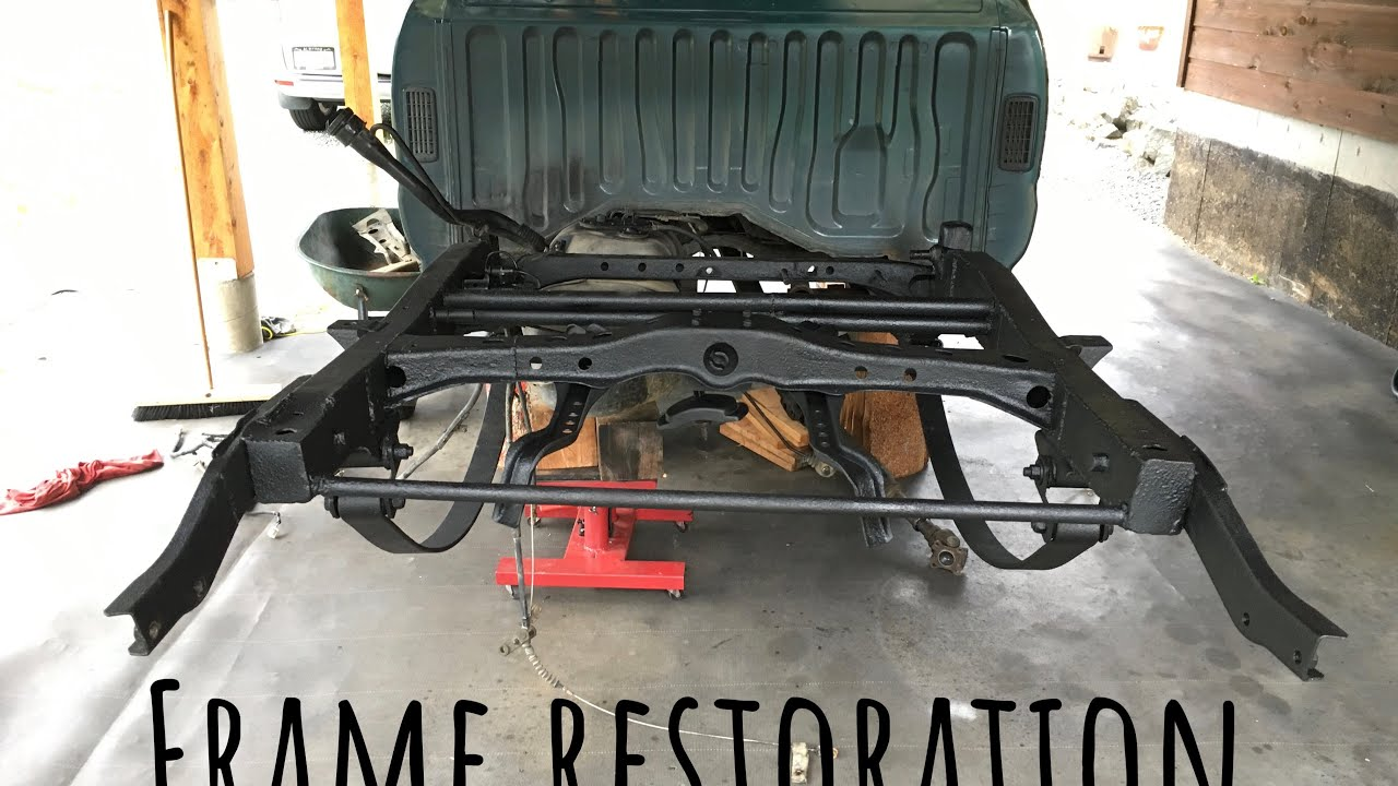 Toyota Tacoma Frame Restoration Youtube