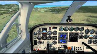 New carenado cessna 340 test flight!