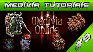 medivia tutoriais 9 hunt knight minotaur mintwallin lvl 40 exp 60 k h exp task gold