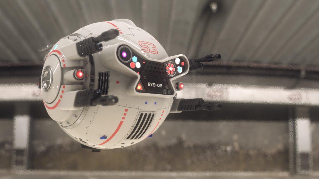 Iphone 4 Blueprint Wallpaper Mini Rc Oblivion Drone 3d Animation Effects Breakdown