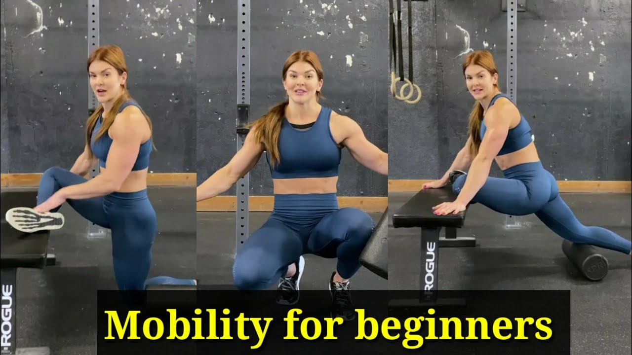 Mobility exercise for beginners - mobility exercise - gym tips - full body workout -