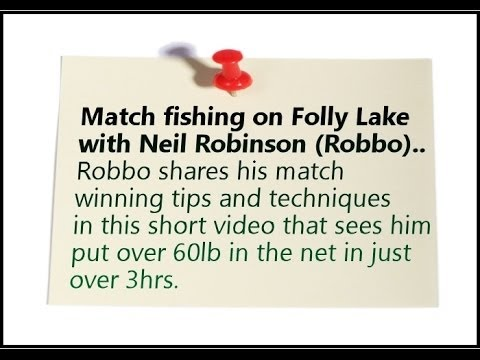 Risby Park Fishing Ponds Match Video 1