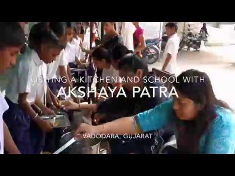 Akshaya Patra   Kitchen and School   Vadodara, Gujarat