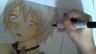 Kyōsuke From Madoka Magica Speed Paint